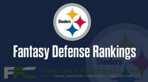 Defense Fantasy Football Rankings 2020