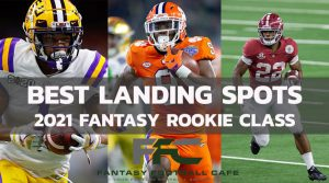 Top 8 Rookies' Best Landing Sports for Fantasy