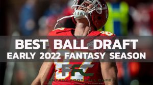 First NFL Best Ball Mock Draft of the 2021 Season